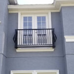custom juliet balcony rail east coast ornamental welding daytona beach fl