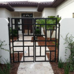 custom walkway gate east coast ornamental welding daytona beach fl