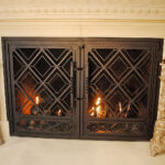 custom ornate fireplace doors daytona beach east coast ornamental welding