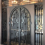 luxury ornate wine gate east coast ornamental welding daytona beach florida